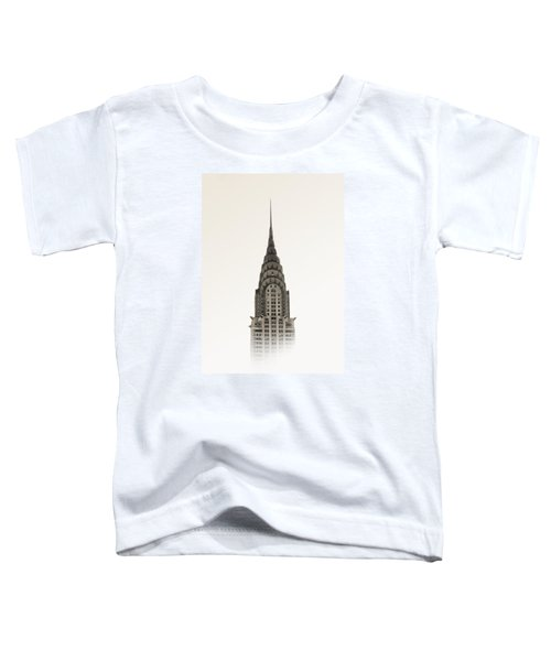 Chrysler Building - Nyc Toddler T-Shirt by Nicklas Gustafsson