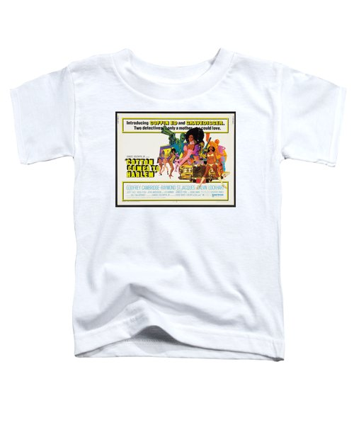 Cotton Comes To Harlem Poster Toddler T-Shirt by Gianfranco Weiss