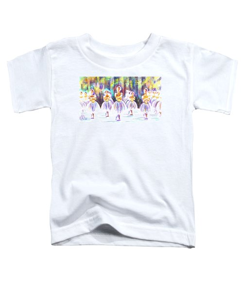 Dancers In The Forest II Toddler T-Shirt by Kip DeVore