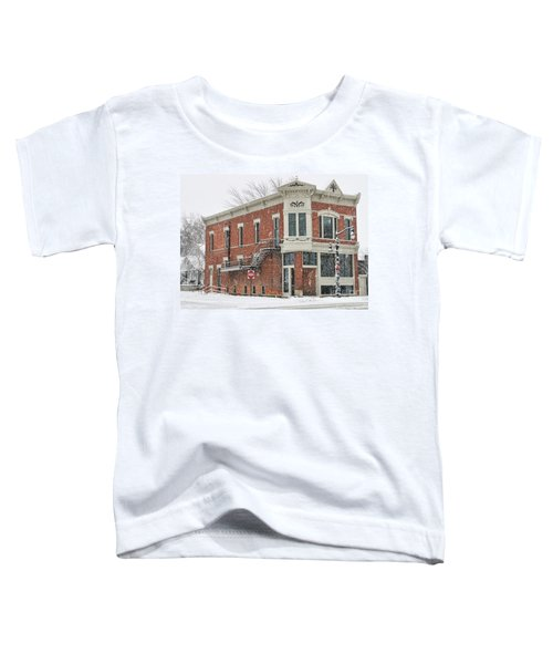 Downtown Whitehouse  7031 Toddler T-Shirt by Jack Schultz
