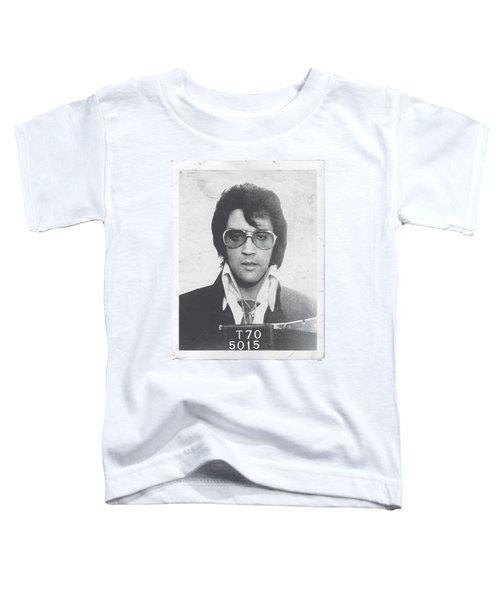 Elvis - Framed Toddler T-Shirt by Brand A