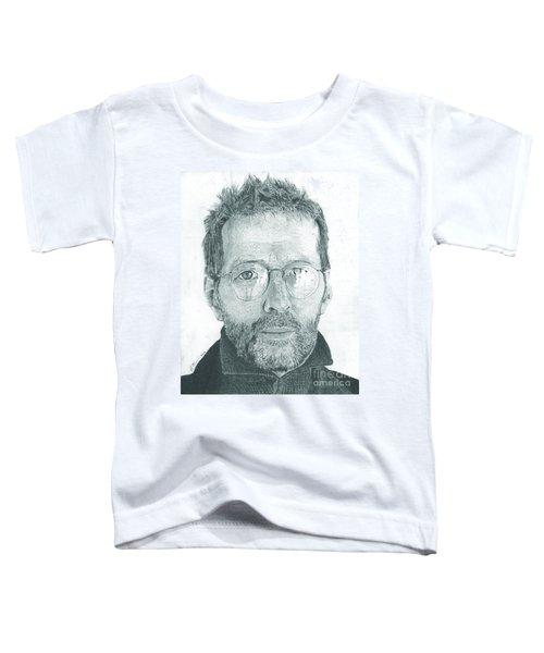 Eric Clapton Toddler T-Shirt by Jeff Ridlen