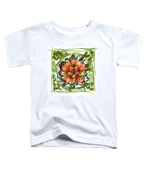 Fresh Fruit Salad Toddler T-Shirt by Anne Gilbert