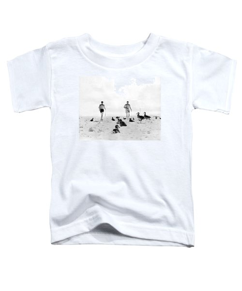 Golf With Gooney Birds Toddler T-Shirt by Underwood Archives