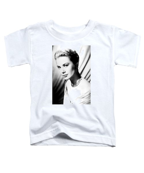 Grace Kelly Toddler T-Shirt by Daniel Hagerman
