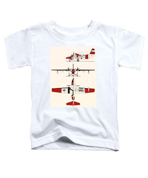 Grumman Hu-16e Albatross Toddler T-Shirt by Mountain Dreams