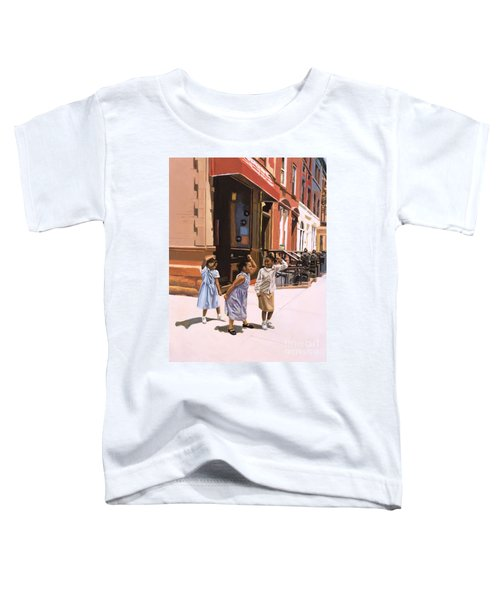 Harlem Jig Toddler T-Shirt by Colin Bootman