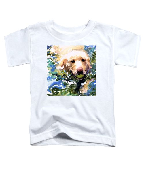 Head Above Water Toddler T-Shirt by Molly Poole