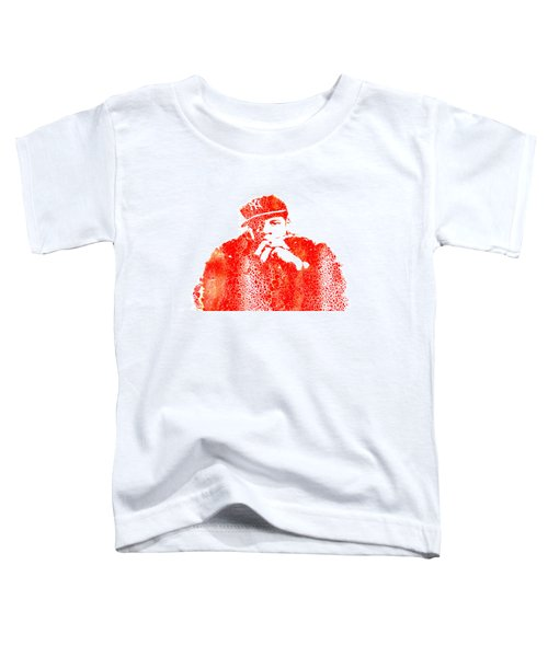 Jay Z Vibes Toddler T-Shirt by Brian Reaves