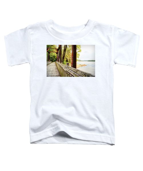 Katy Trail Near Coopers Landing Toddler T-Shirt by Cricket Hackmann