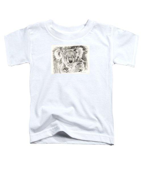 Koala Garage Girl Toddler T-Shirt by Remrov