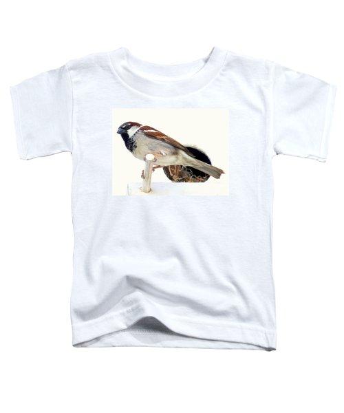 Little Sparrow Toddler T-Shirt by Karen Wiles