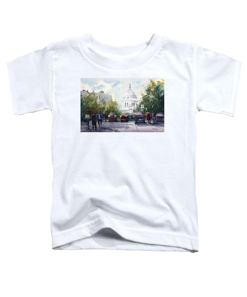 Madison - Capitol Toddler T-Shirt by Ryan Radke