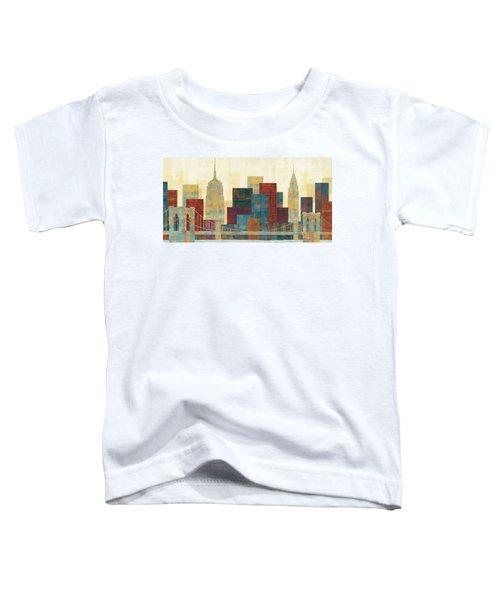 Majestic City Toddler T-Shirt by Michael Mullan