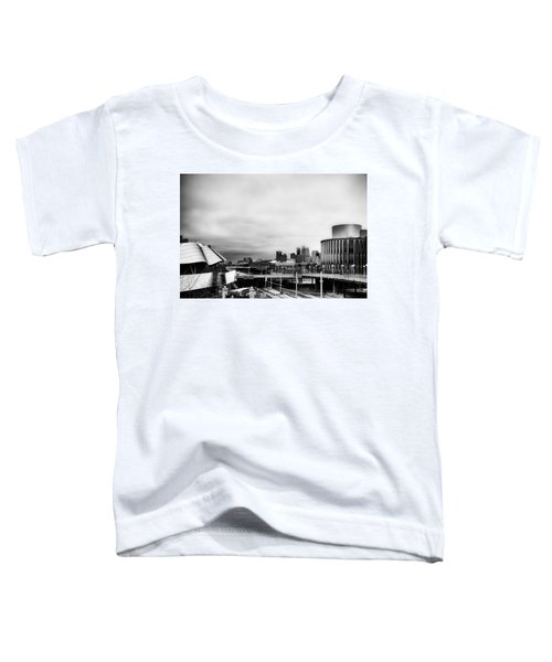 Minneapolis From The University Of Minnesota Toddler T-Shirt by Tom Gort