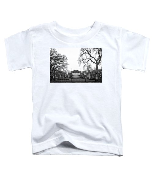 Northrop Auditorium At The University Of Minnesota Toddler T-Shirt by Tom Gort