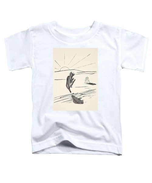 Old Man Kangaroo Toddler T-Shirt by Rudyard Kipling