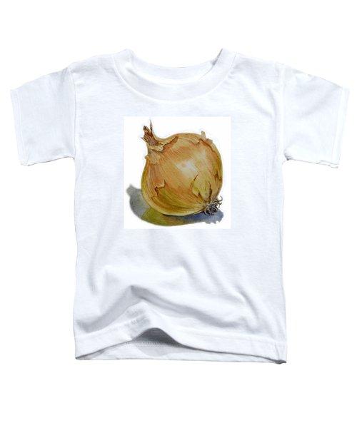 Onion Toddler T-Shirt by Irina Sztukowski