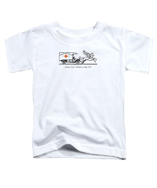 Pegasus At Work For The Allies Toddler T-Shirt by War Is Hell Store