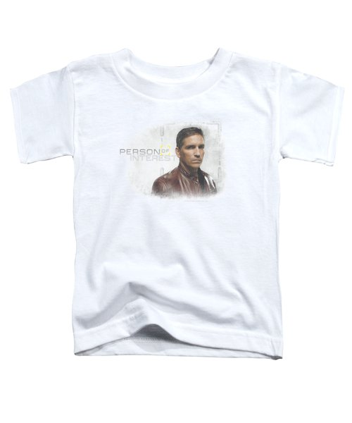 Person Of Interest - Cloud Toddler T-Shirt by Brand A