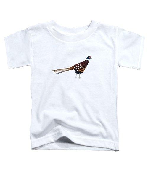 Pheasant Toddler T-Shirt by Isobel Barber