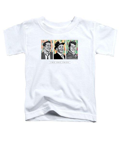 Rat Pack Pop Art Toddler T-Shirt by Jim Zahniser