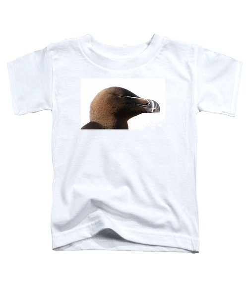 Razorbill Auk Toddler T-Shirt by Jeannette Hunt