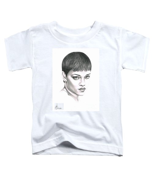 Rihanna Toddler T-Shirt by Murphy Elliott