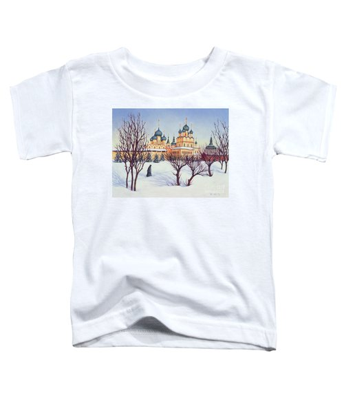 Russian Winter Toddler T-Shirt by Tilly Willis