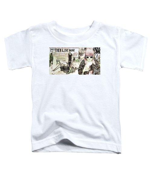 Seattle 1990's Toddler T-Shirt by Joshua Morton