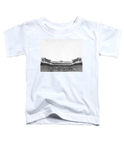 Soldiers' Field And Museum Toddler T-Shirt by Underwood Archives