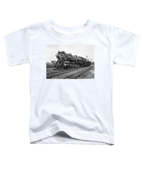 Steam Locomotive Crescent Limited C. 1927 Toddler T-Shirt by Daniel Hagerman