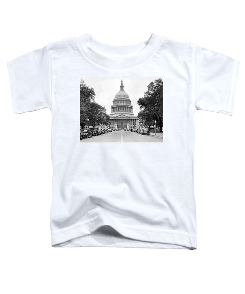 The Capitol Building Toddler T-Shirt by Underwood Archives