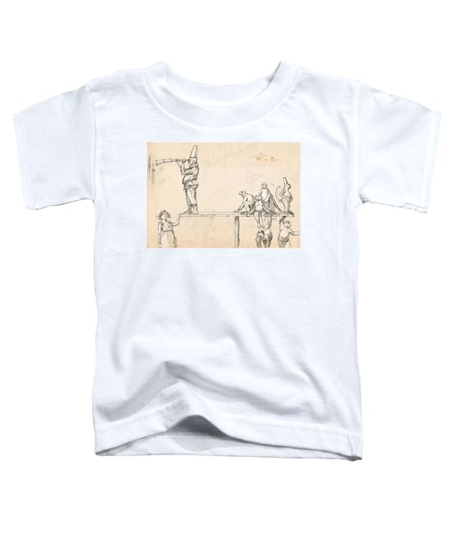 The Captain Toddler T-Shirt by H James Hoff