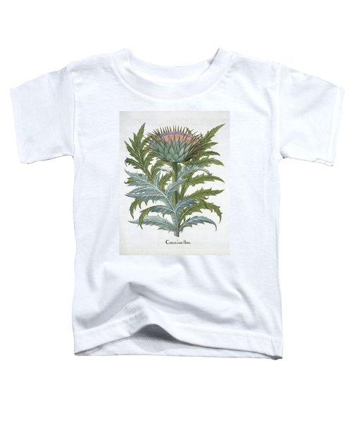 The Cardoon, From The Hortus Toddler T-Shirt by German School