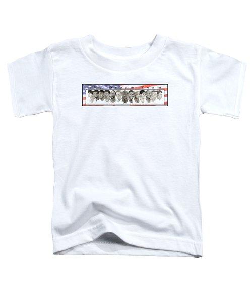 the Dream Team Toddler T-Shirt by Tamir Barkan