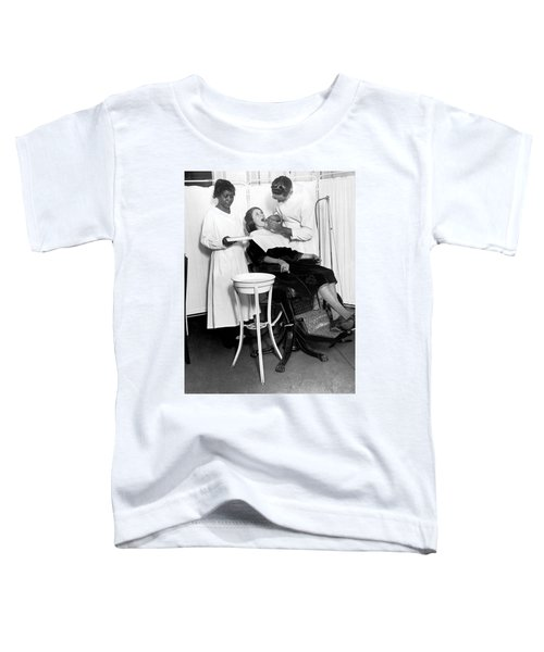 The North Harlem Dental Clinic Toddler T-Shirt by Underwood Archives
