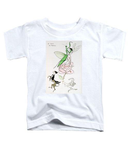 The Poets Corner Toddler T-Shirt by Sem