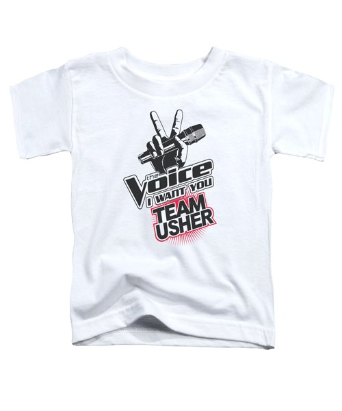 The Voice - Team Usher Toddler T-Shirt by Brand A