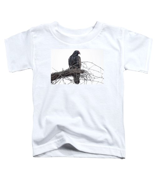 Turkey Vulture Toddler T-Shirt by Douglas Barnard