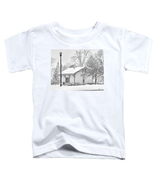 Whitehouse Train Station Toddler T-Shirt by Jack Schultz