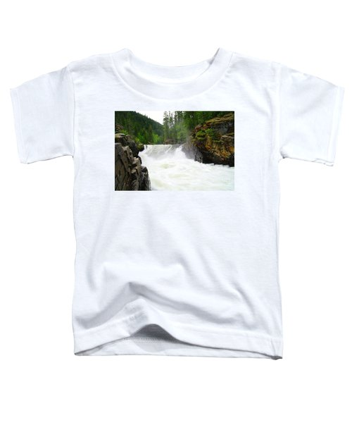 Yaak Falls Toddler T-Shirt by Jeff Swan