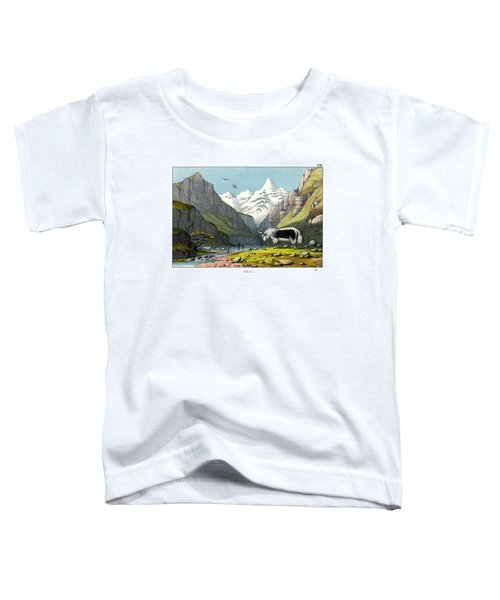 Yak Toddler T-Shirt by Splendid Art Prints