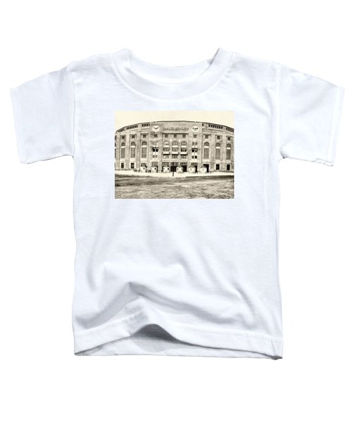 Yankee Stadium Toddler T-Shirt by Bill Cannon