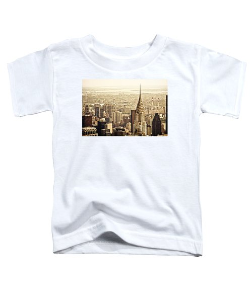 New York City  Toddler T-Shirt by Vivienne Gucwa