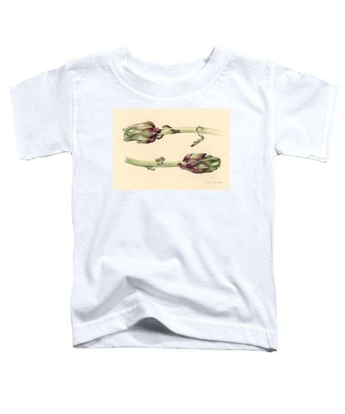 Artichokes Toddler T-Shirt by Alison Cooper