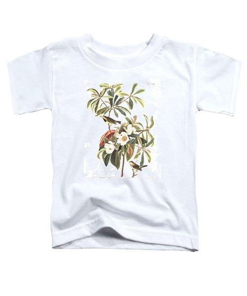 Bachman's Warbler  Toddler T-Shirt by John James Audubon