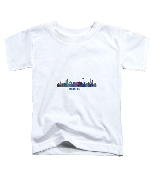 Berlin City Skyline Hq 1 Toddler T-Shirt by HQ Photo