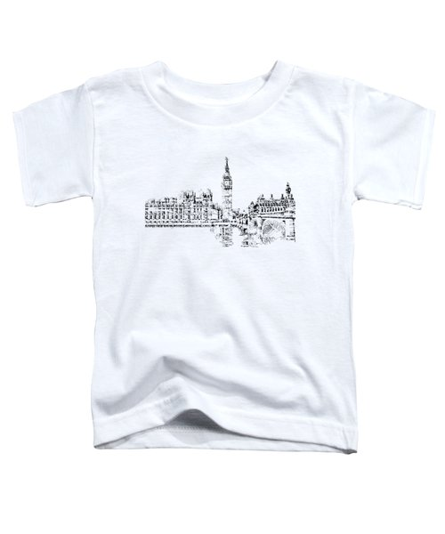 Big Ben Toddler T-Shirt by ISAW Gallery