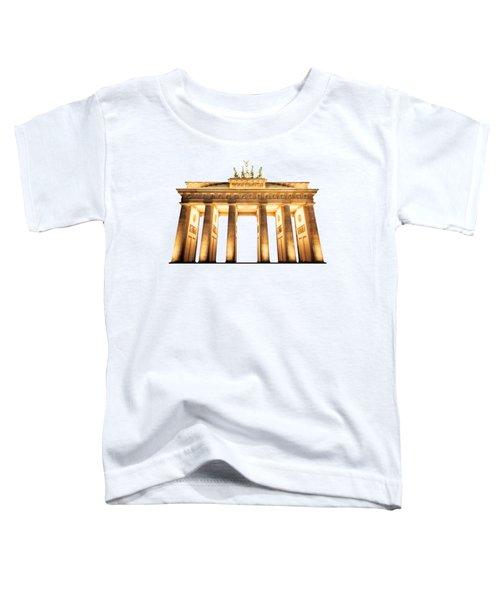 Brandenburg Gate Toddler T-Shirt by Julie Woodhouse